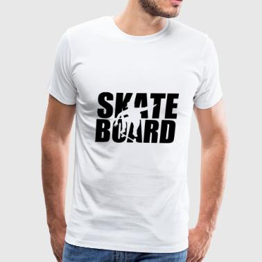 time for beer and skaterchicks - Men's Premium T-Shirt