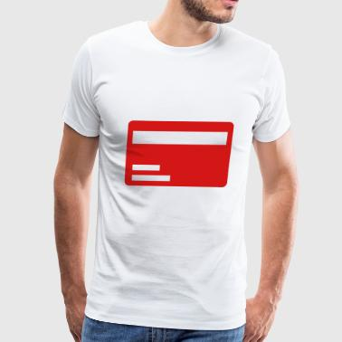 Credit card - Men's Premium T-Shirt