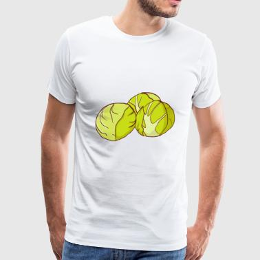 Brussels sprouts - Men's Premium T-Shirt