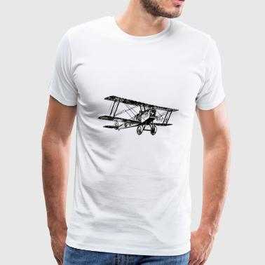 flugzeug airplane aeroplane fliegen68 - Men's Premium T-Shirt