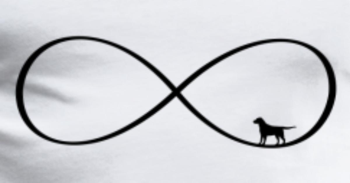 Infinity Symbol Dog Gift Love By Frauk Spreadshirt