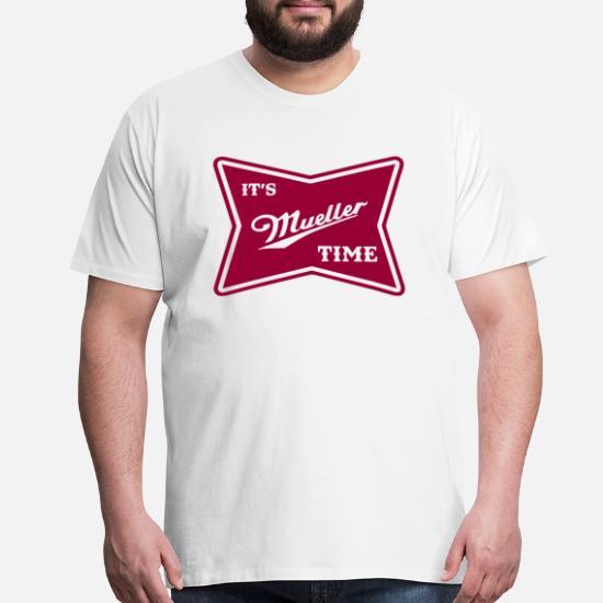 9cc6bfe6 Anti Trump Resist Its Mueller Time Men's Premium T-Shirt | Spreadshirt