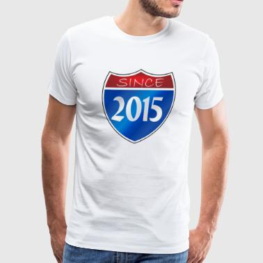 Since 2015 - Men's Premium T-Shirt