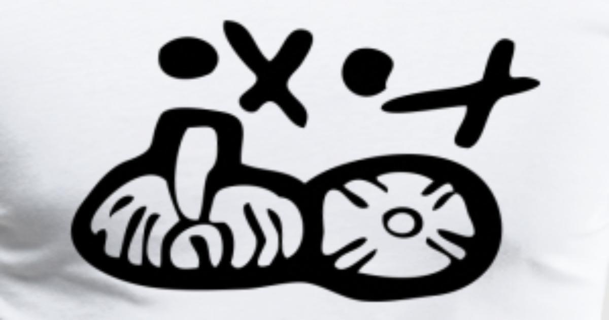 Maya Symbols Mayan Script Mayan Glyphs By Nakoa Spreadshirt