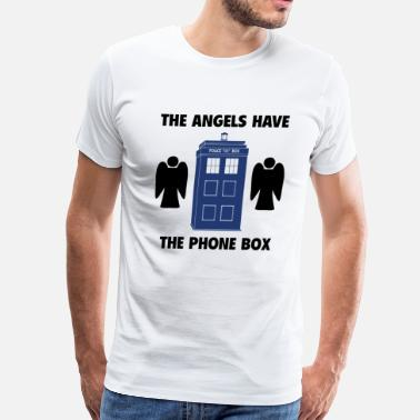 Phone The angels have the phone box - Men's Premium T-Shirt