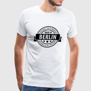 Made in BERLIN - Men's Premium T-Shirt