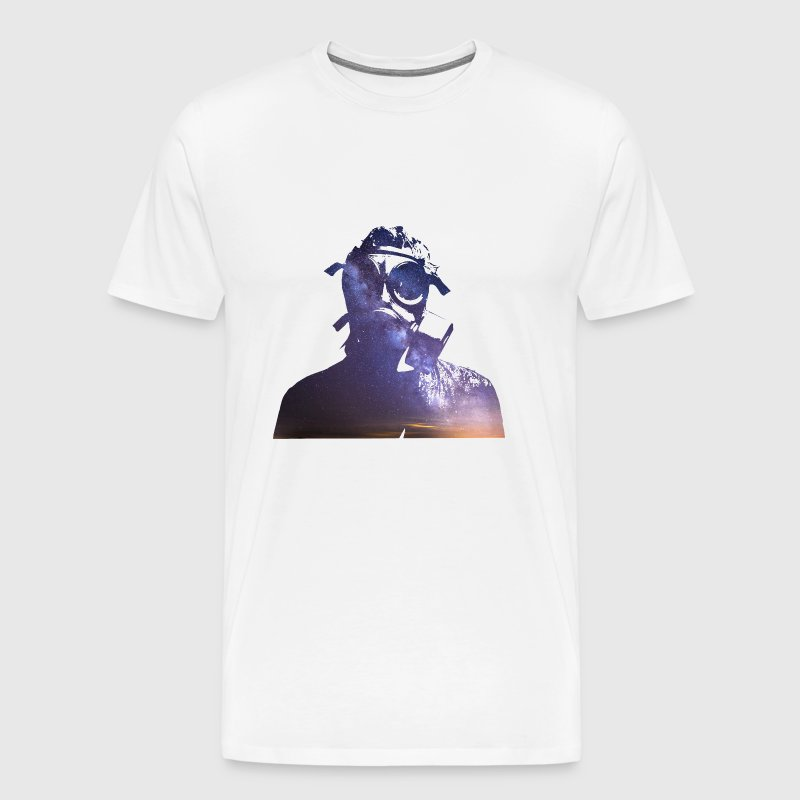 Steven Wilson in Space - Men's Premium T-Shirt