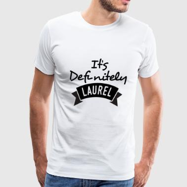 Funny Debate Funny Yanny - It's Definitely Laurel - Audio - Men's Premium T-Shirt