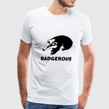 Badgerous - Men's Premium T-Shirt