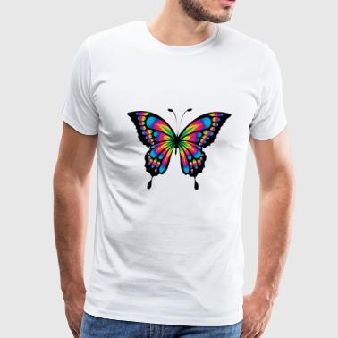 Butterfly colored - Men's Premium T-Shirt