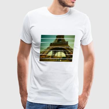 La Tour Eiffel - Men's Premium T-Shirt