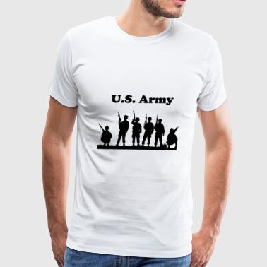 US. Army - United States Military - Men's Premium T-Shirt