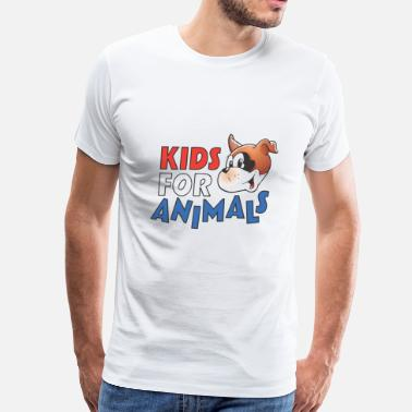Animal For Kids Kids For Animals - Men's Premium T-Shirt