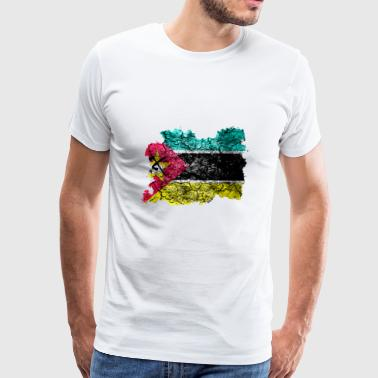 Mozambique Vintage Flag - Men's Premium T-Shirt