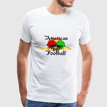 Funny sayings,Fun sayings, cool sayings,Football, - Men's Premium T-Shirt