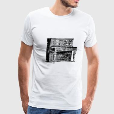 instrument piano music - Men's Premium T-Shirt