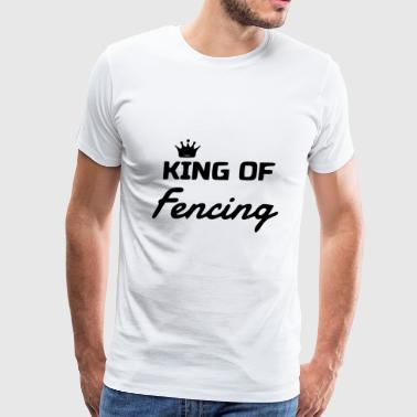 king of - Men's Premium T-Shirt