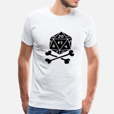 Tabletop Gamer TableTop Pirate - Men's Premium T-Shirt