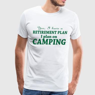 Camping retirement - Men's Premium T-Shirt