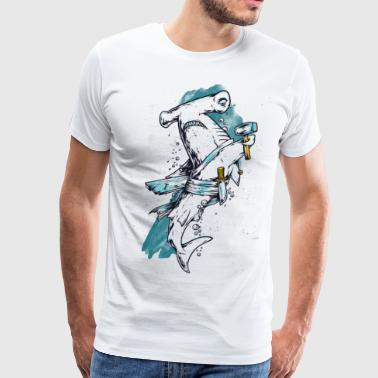 Sealife Shark - Men's Premium T-Shirt
