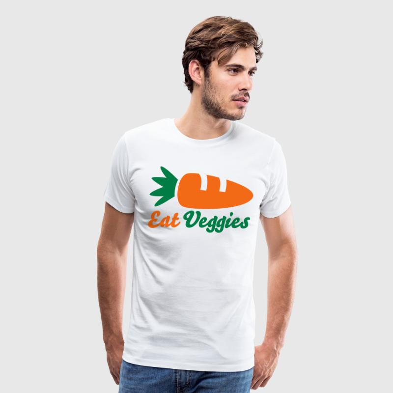 Eat Veggies - Men's Premium T-Shirt