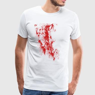 Blood Stains Blood Stains Halloween - Men's Premium T-Shirt