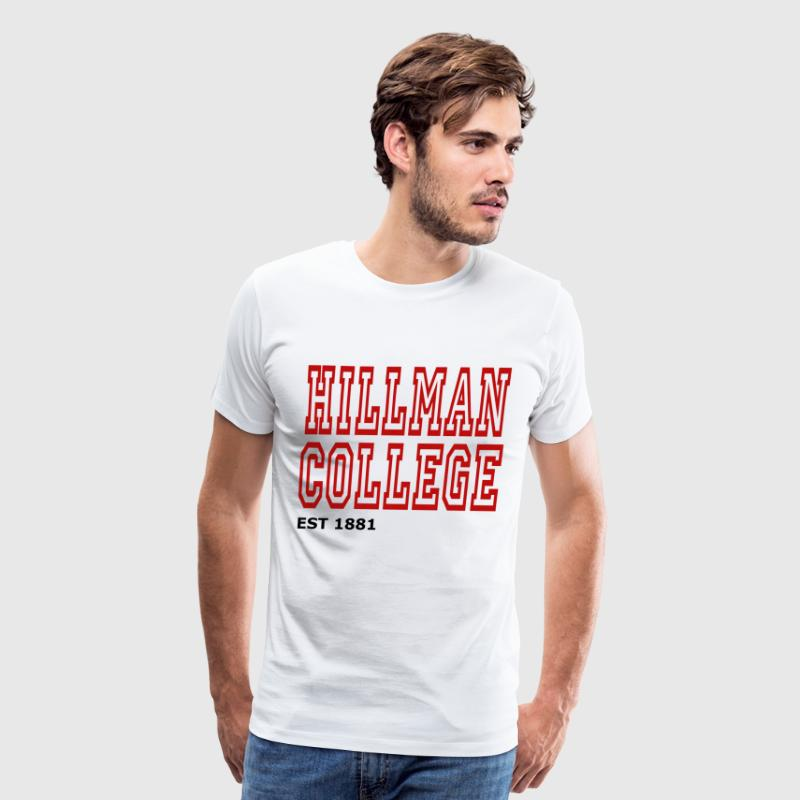 HILLMAN COLLEGE - Men's Premium T-Shirt