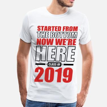Senior Class of 2019 Graduate - Men's Premium T-Shirt