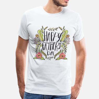 Dad Daughter Fathers day - Men's Premium T-Shirt