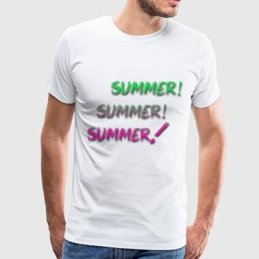 summer summer summer - Men's Premium T-Shirt