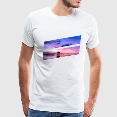 Bright color ocean - Men's Premium T-Shirt