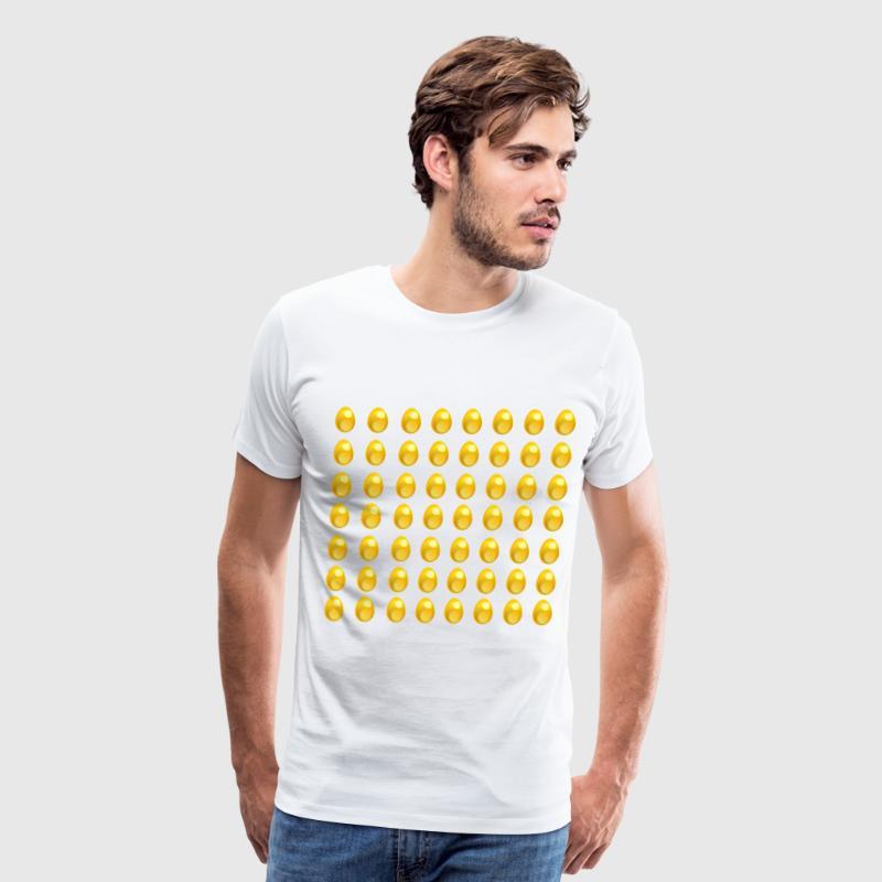 More eggs chicken easter gold money gift idea by rundle7 spreadshirt more eggs chicken easter gold money gift idea mens premium t shirt negle Gallery