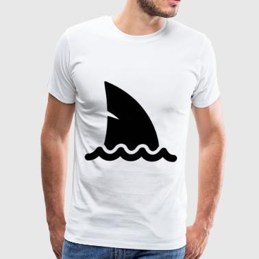 Shark Fin - Men's Premium T-Shirt