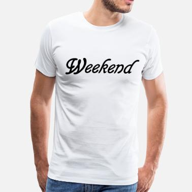 Weekender Weekend - Men's Premium T-Shirt