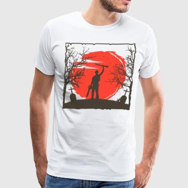 Dust Ash Williams - Men's Premium T-Shirt