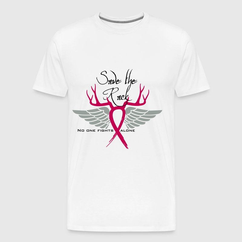 Breast Cancer Save the rack - Men's Premium T-Shirt
