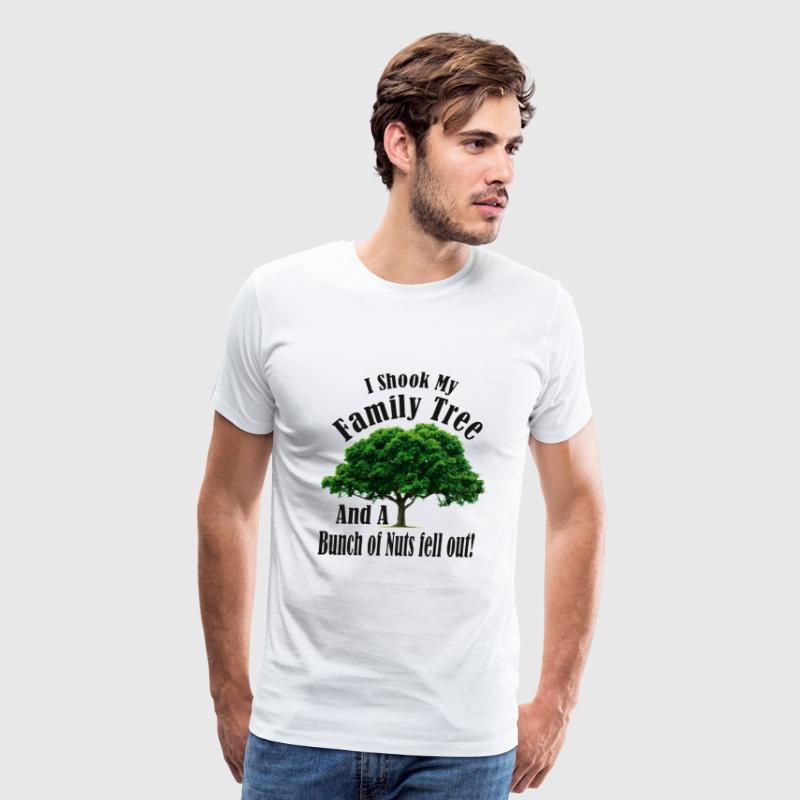 I Shook my Family Tree Nutters - Men's Premium T-Shirt
