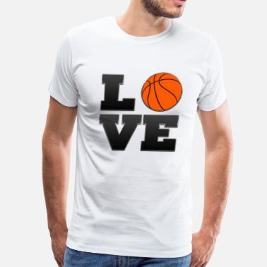 db494f4358ba San Antonio Spurs Love San Antonio Spurs Basketball - Men s Premium T-Shirt
