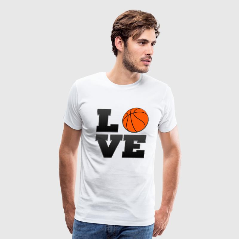 Love San Antonio Spurs Basketball  - Men's Premium T-Shirt