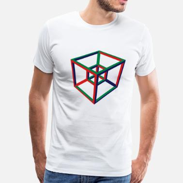 Tesseract Tesseract - Men's Premium T-Shirt