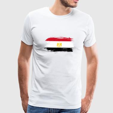 Cairo Egypt Flag / Gift Cairo Africa National - Men's Premium T-Shirt