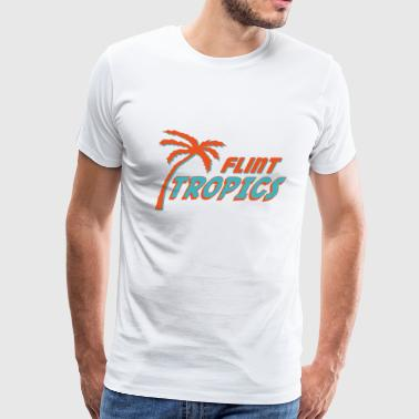 Semi Pro Flint Tropics - Men's Premium T-Shirt