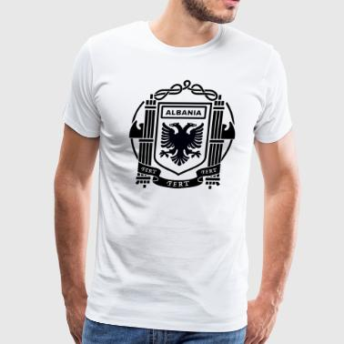 Flags Albanian Albanian Flag - Men's Premium T-Shirt