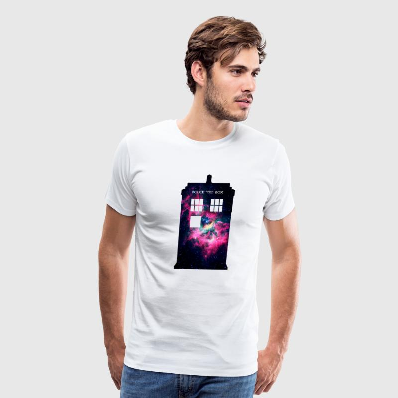 Galaxy Tardis - Men's Premium T-Shirt