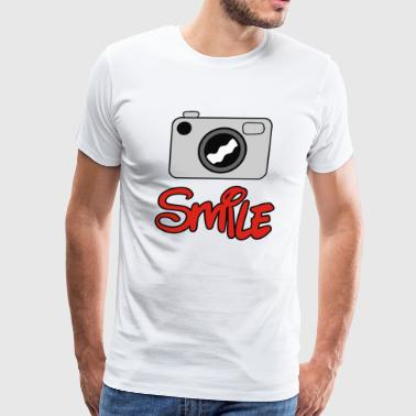 Camera Smile - Men's Premium T-Shirt