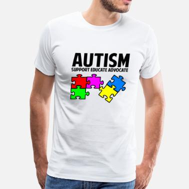 Awesome Autism Autism - Men's Premium T-Shirt