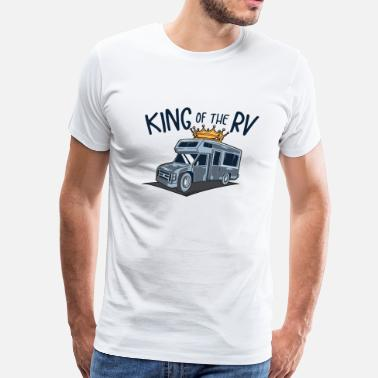 Wild N Out King of the RV - King of the Camper - Men's Premium T-Shirt