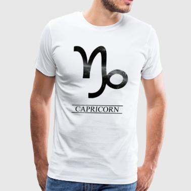 Zodiac - Capricorn - Men's Premium T-Shirt