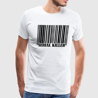 Barcode - Serial Killer - Men's Premium T-Shirt