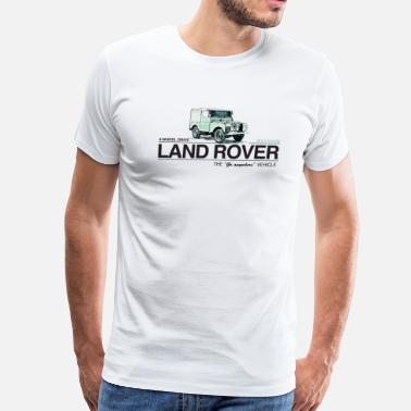 Land Land Rover Series 1 - Men's Premium T-Shirt
